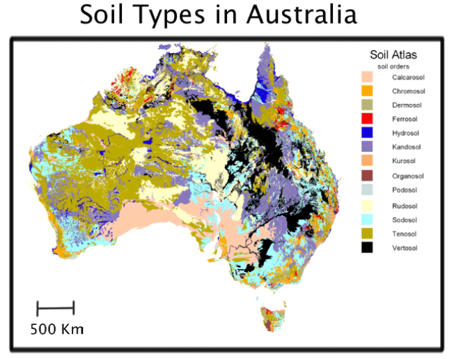 Soil australia for Soil and its types